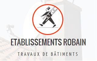 Logo de Ets. Robain, couvreur professionnel et spécialiste des travaux de toiture