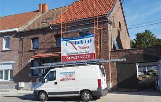 rénovation de toiture à Mons