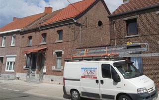 rénovation de toiture à Ath
