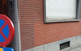 nettoyage de murs après sinistre