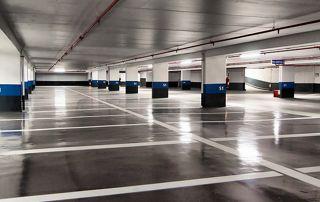 emplacements parking nettoyés