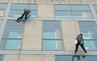 nettoyage vitres immeuble
