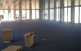 bureaux vides après déménagement