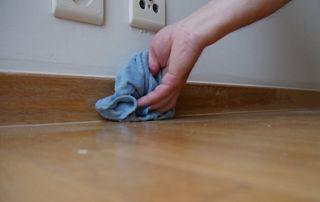 Prise de poussières plinthes