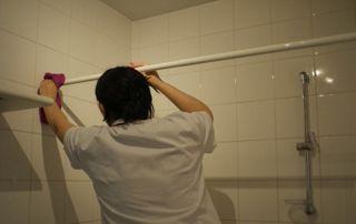 Nettoyage salle de bain