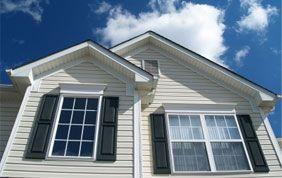 maison avec double vitrage