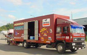 camion de déménagement Fossoul