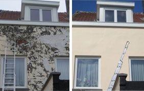 rénovation de façade : avant-après