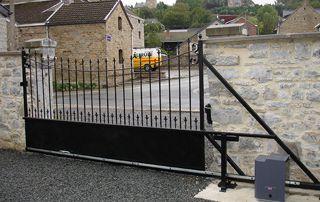 barrière motorisée