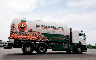 Camion pellets