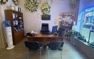 magasin et bureau Funérailles Van Ees
