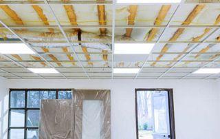 Faux plafond et isolant