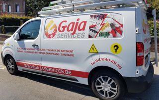 camionnette gaja entretien et dépannage