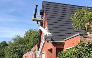 rénovation toit en ardoises à Liège