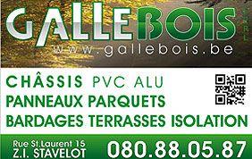 Galle Bois logo et services