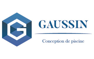 logo Gaussin conception de piscine