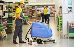 Machine professionnelle de nettoyage de sols