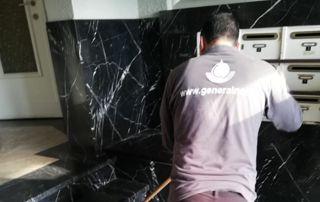 Nettoyage hall d'entrée immeuble