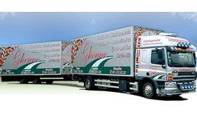 camion de déménageurs