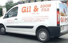 camionnette Gil & Fils