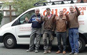équipe de déboucheurs de Gil & Fils