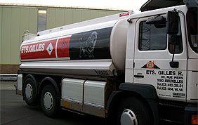 camion de mazout