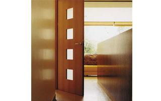 porte intérieure vitrée