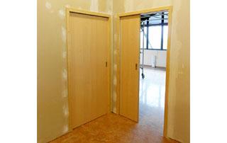 portes coulissantes en hêtre
