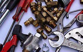 matériel de réparation et installation