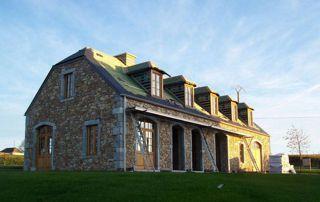 rénovation de batiment en pierres