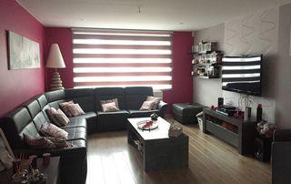 salon rénové : fenêtres, murs, sols