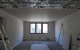 pose plafond suspendu
