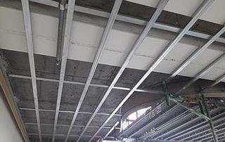 Réalisation de faux plafonds