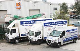 flotte de camions de déménagement