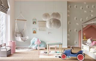 peinture intérieure chambre d'enfant
