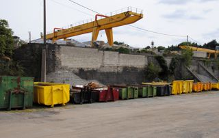 flotte de containers divers