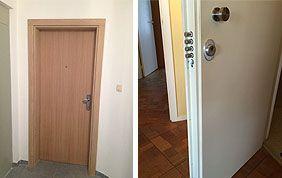 portes blindées pare-feu pour appartement