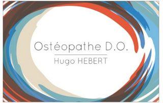 Carte de visite Hugo Hebert