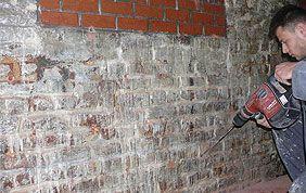 diagnostic problème mur enterré