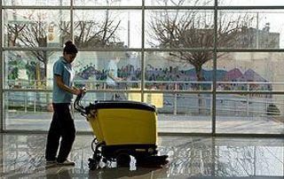 Equipement professionnel nettoyage sol