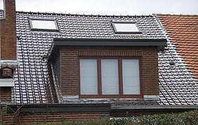 toiture et fenêtre