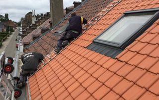 toit en tuiles avec velux