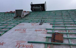 travaux de couverture de toiture