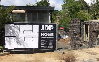 chantier de construction JDP Home