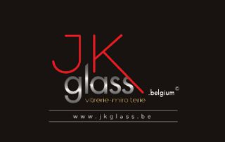 JK Glass logo