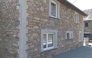 rénovation murs extérieurs en pierre