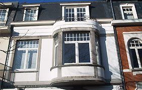 fenêtres avec profilé Aluplast