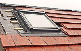 placement velux sur toit incliné