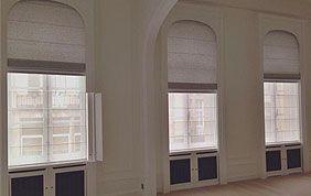 3 fenêtres avec habillage occultant