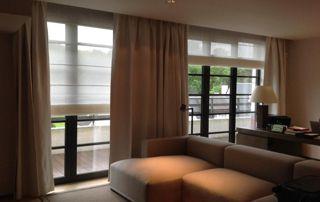 habillage de fenêtres : stores et tentures